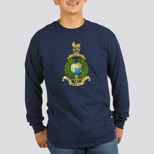 Royal Marines Long Sleeve Dark T-Shirt