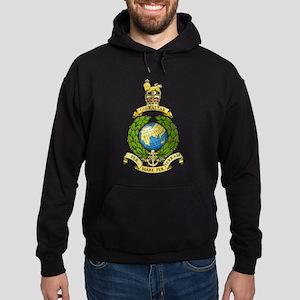 Royal Marines Hoodie (dark)