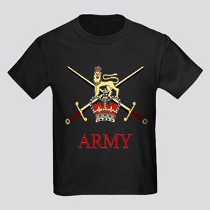 British Army Kids Dark T-Shirt