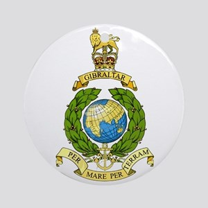 Royal Marines Ornament (Round)