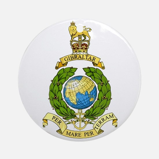 Royal Marines Ornament (Round)