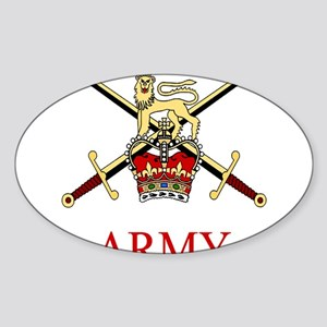 British Army Sticker (Oval)