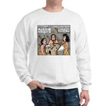 Caveman Wallpaper Sweatshirt