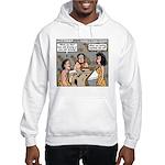 Caveman Wallpaper Hooded Sweatshirt