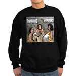 Caveman Wallpaper Sweatshirt (dark)