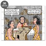 Caveman Wallpaper Puzzle