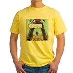 Canadian Old West Yellow T-Shirt