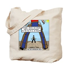 Canadian Old West Tote Bag