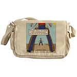 Canadian Old West Messenger Bag