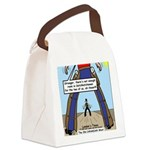 Canadian Old West Canvas Lunch Bag