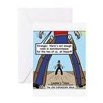 Canadian Old West Greeting Card