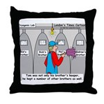 Brothers Keeper Throw Pillow