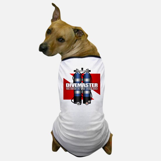 Divemaster (Scuba Tanks) Dog T-Shirt