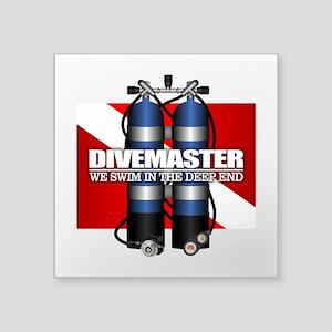 Divemaster (Scuba Tanks) Sticker