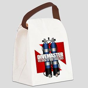 Divemaster (Scuba Tanks) Canvas Lunch Bag