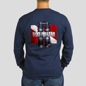 Divemaster (Scuba Tanks) Long Sleeve T-Shirt