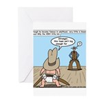 Billy the Kid Baby Greeting Cards (Pk of 10)