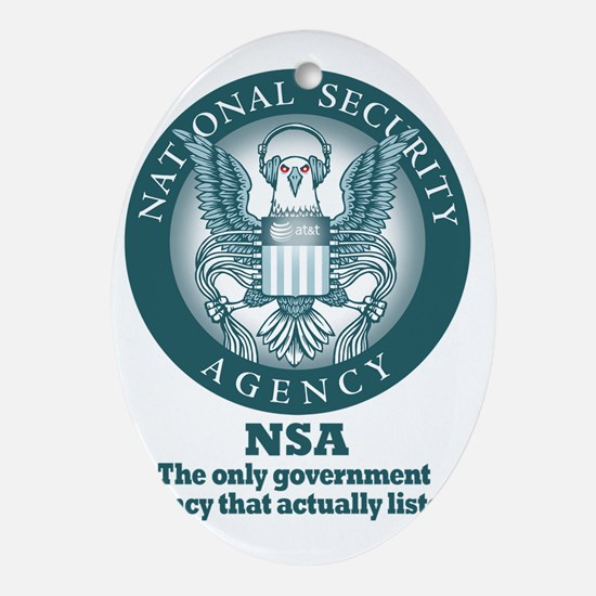 The NSA Oval Ornament
