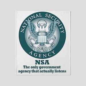 The NSA Throw Blanket