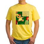Stupid Fans Yellow T-Shirt