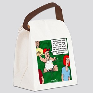 Stupid Fans Canvas Lunch Bag