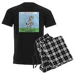 Suit of Armor Men's Dark Pajamas