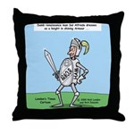 Suit of Armor Throw Pillow
