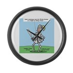 Suit of Armor Large Wall Clock