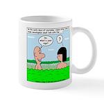 Adam and Eve Pickup Line Mug
