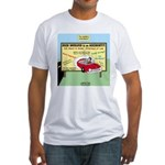 Accident Law Firm Billboard Fitted T-Shirt