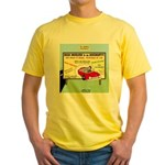 Accident Law Firm Billboard Yellow T-Shirt