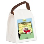 Accident Law Firm Billboard Canvas Lunch Bag