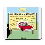 Accident Law Firm Billboard Mousepad