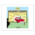 Accident Law Firm Billboard Small Poster