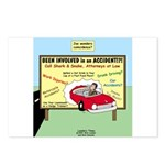 Accident Law Firm Billboard Postcards (Package of
