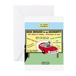 Accident Law Firm Billboard Greeting Cards (Pk of