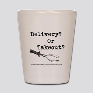 Delivery or Takeout final copy Shot Glass