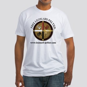 Free Leonard Peltier Fitted T-Shirt