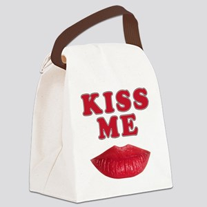 CP THNG KM LIPS Canvas Lunch Bag
