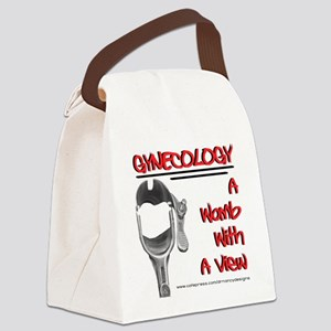 A Womb With A View Canvas Lunch Bag