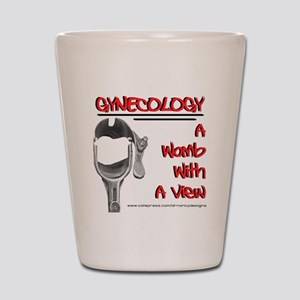 A Womb With A View Shot Glass