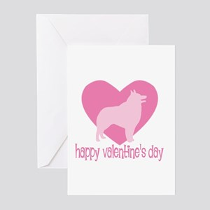 Schipperke Valentine Greeting Cards (Pk of 10)