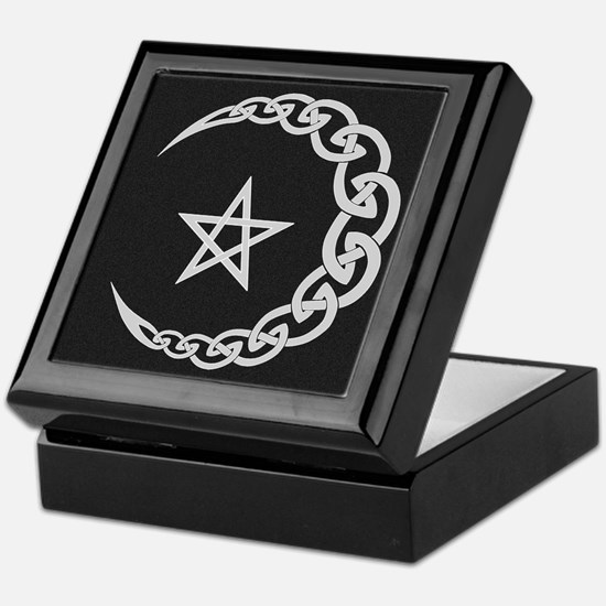 Celtic Moon Keepsake Box
