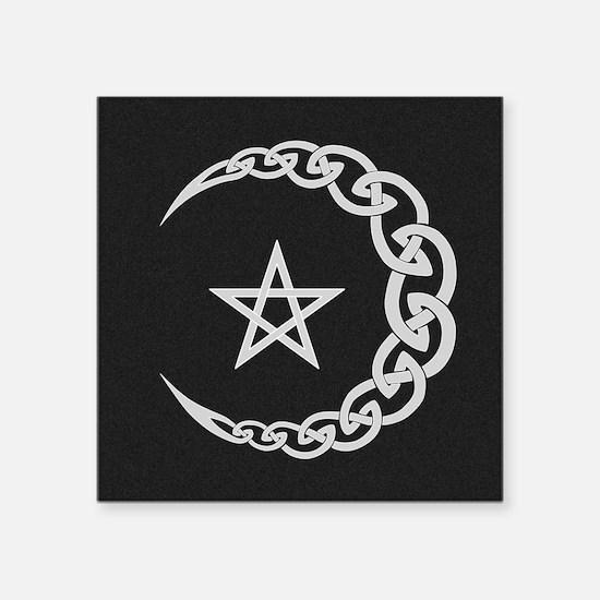 Celtic Moon Sticker