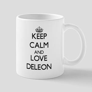 Keep calm and love Deleon Mugs
