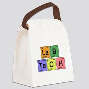 LaB TeCH color2 copy Canvas Lunch Bag