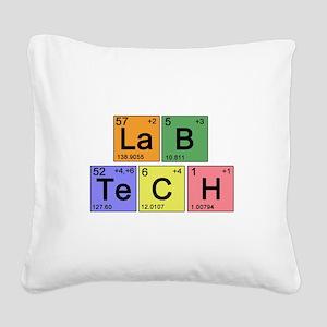 LaB TeCH color2 copy Square Canvas Pillow