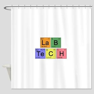 LaB TeCH color2 copy Shower Curtain