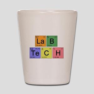 LaB TeCH color2 copy Shot Glass