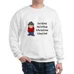 The Schmaltzen Dreidel Sweatshirt
